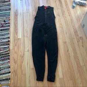 Nike sleeveless sweatsuit jumpsuit